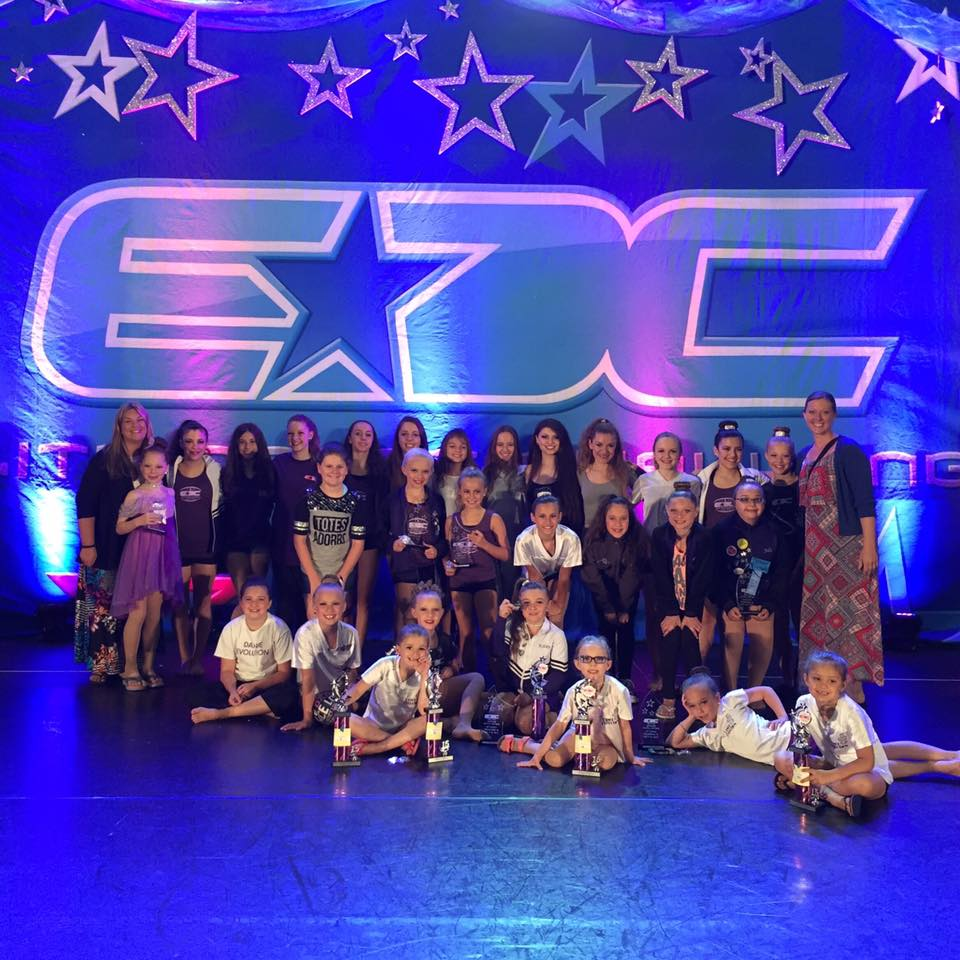 2015 Dance Evolution Competition Team